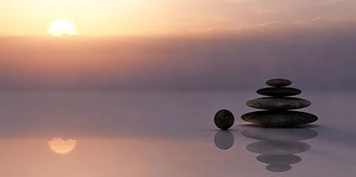 cortisol verlagen, zen