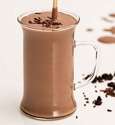 smoothie chocolade