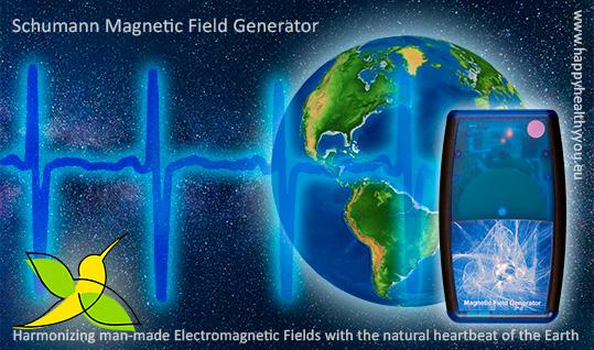Aarde frequentie generator